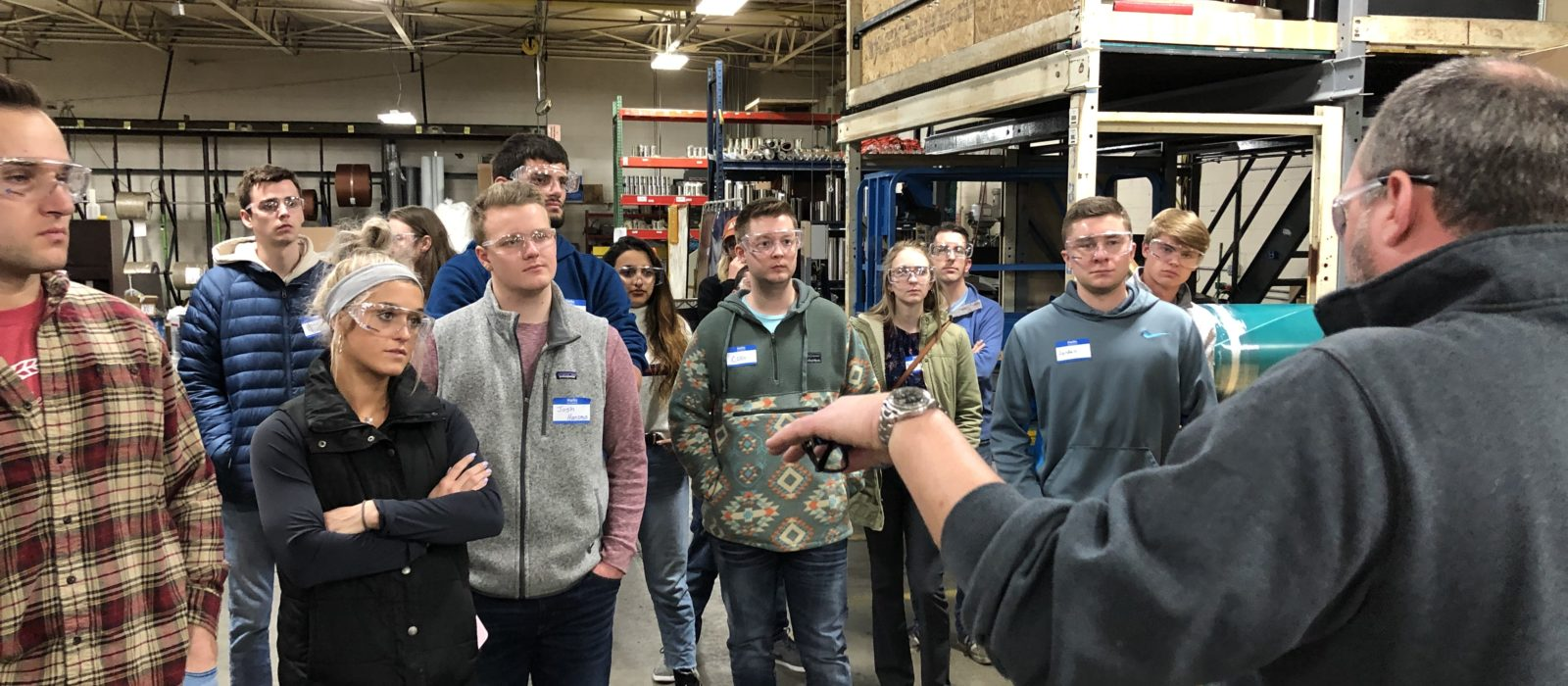 Sparks And Gvsu Visit  Nick Plant Tour