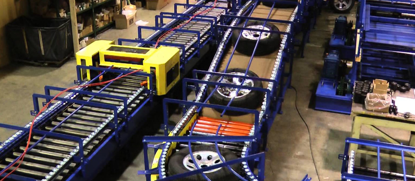 Tire Conveyor Sparks Belting