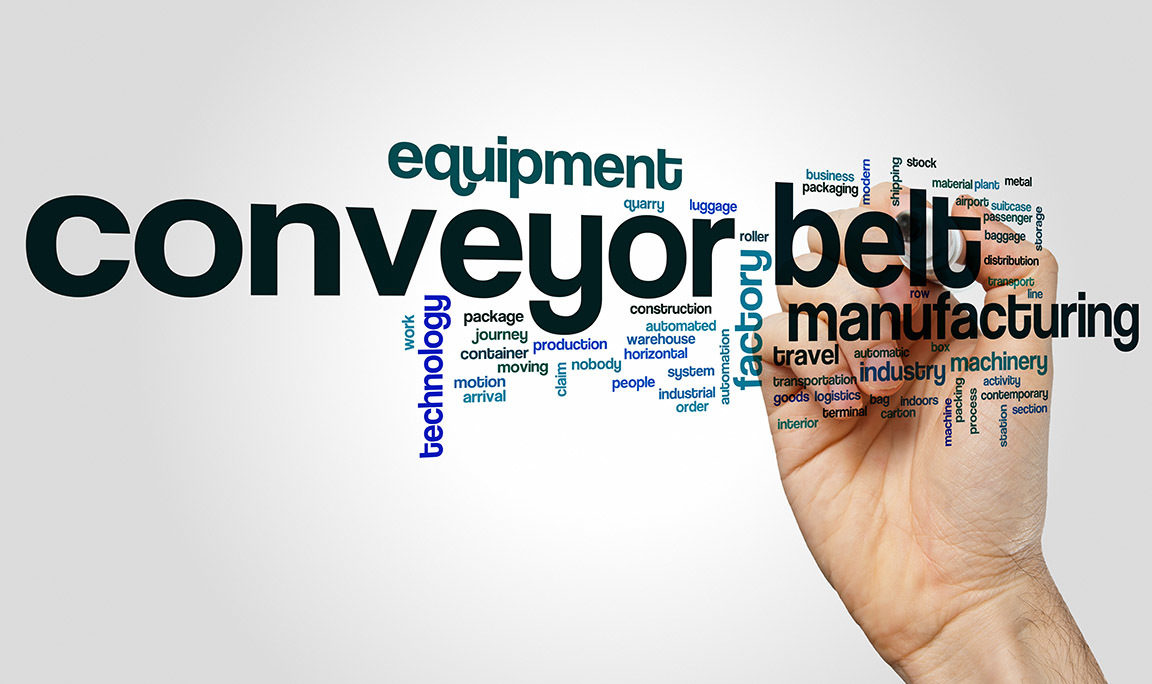 Conveyor Belt Word Collage