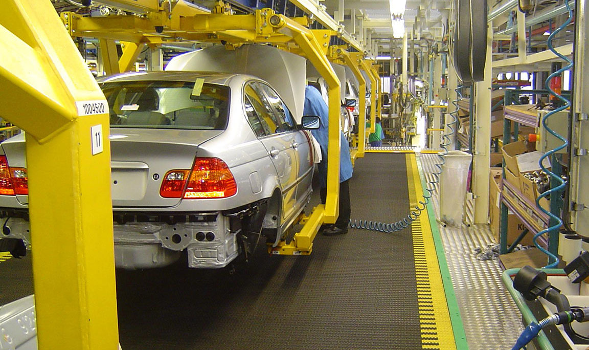 Modular Plastic Belting for Automotive Plants